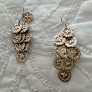 Anna Beck Coin dangle earrings